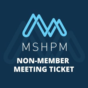 purchase mshpm non-member conference ticket